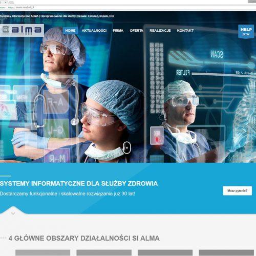 Strona internetowa CMS Responsywna